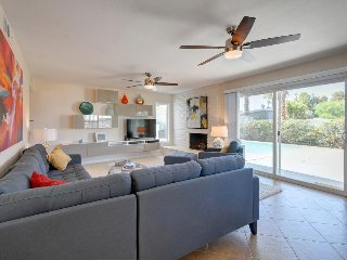 Classic contemporary dog-friendly home, w/private pool & prime location!
