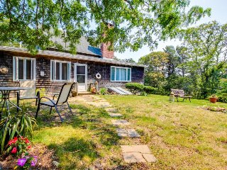 Lovely clapboard home in a private setting in the heart of town, Oak Bluffs