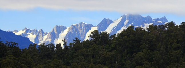 View of Southern Alps from Code Time Lodge