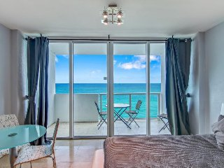 Sweeping oceanfront views & resort amenities aplenty including shared pool