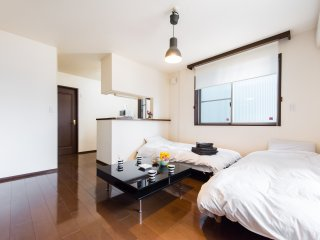 #74Center Tokyo/great loc.easy access Airport/max7, Shinagawa