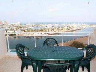 Apartamento con vistas panoramicas al Puerto Tomas, La Manga del Mar Menor