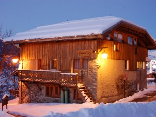 Chalet La Vieille Maison, Sauna, SPA, La Plagne