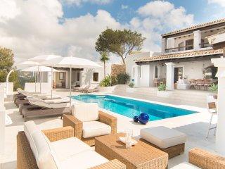 lujoso 5 estrellas villa de estilo finca con piscina, Roca Llisa