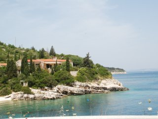 Villa Delphini, Paxos, Greece. Luxury family villa right on the water sleeps 10