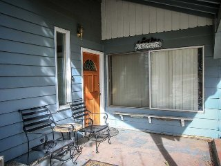 Front Patio and Entry Door