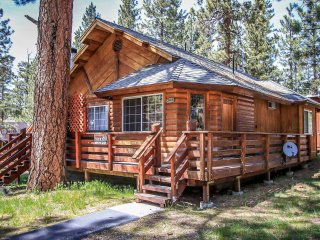 Forest Treehouse Adorable 2BR Chalet w/ Hot Tub / Walk To Lake/Marina