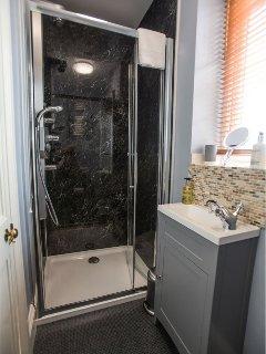 En-suite shower and WC