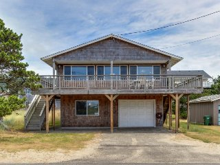 Charming home w/ ocean views, entertainment & nearby beach access, Pacific City
