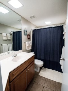 Master Bathroom, full, private, ensuite with Master Bedroom