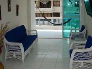 Apartamento con balcón y vista al Mar 506KA, Santa Marta