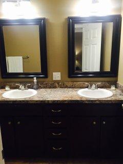 Master Bath - Double Sink Vanity