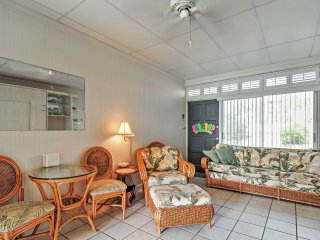 New Listing! Alluring Indian Shores Studio w/Wifi, Gulf Views, Community Pool, Fishing Dock & Grill - Close Proximity to Area's Main Attractions!