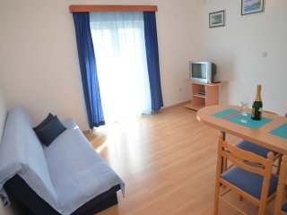Apartments Branka- One Bedroom Apartment with Balcony (Blue)