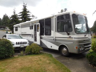 RV parking possible $10/day more
