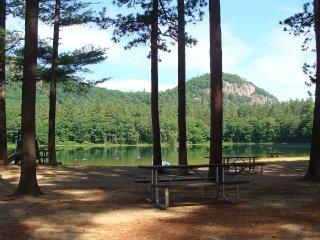 Nr. *ECHO LAKE* Cathedral Ledge, visit STORYLAND, North Conway