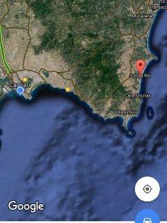 Posizione della casa rispetto a Cagliari
