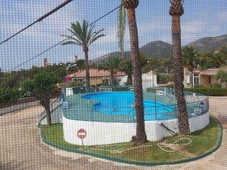 Apartamento con piscina a 200 m del mar, Alcanar