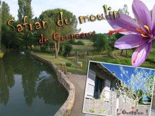 Moulin a eau a la campagne