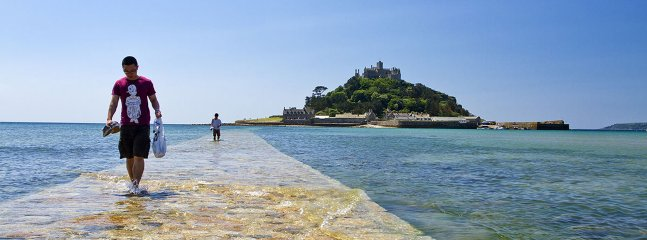 A visit to St Michaels Mount at Marazion