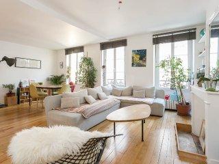 Appartement coup de foudre à Montmartre, París