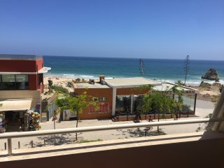View from the Apartment of the restaurants, beach and sea