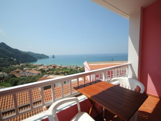 Double Seaview Half-Board Hotel Room + free pickup, Agios Gordios