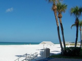 Siesta Key Villa  #1 Beach USA* Gulfside Condo*, Sarasota