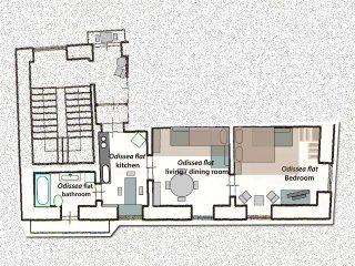 PALAZZU STIDDA, ODISSEA FLAT: Accommodates 1 to 6 guests.