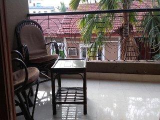 1Bhk Pool Facing Fully AC Apartment Candolim