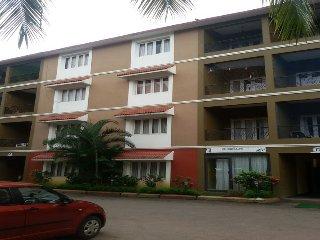 Goa Rentals 1Bhk Fully AC,Kitchen,Pool Facing Candolim