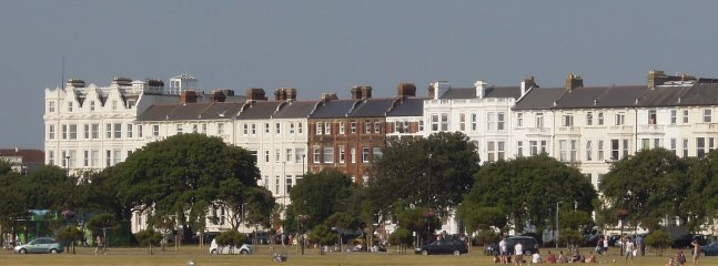 Our building viewed from across Southsea Common