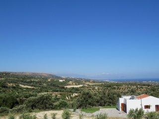 Vrijstaande villa met panoramisch zicht.