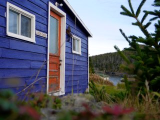 East Coast Newfoundland Barn on the Sea