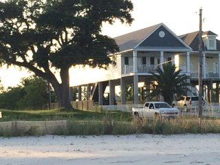 New Custom Beachfront Home on Bay of St Louis, Waveland