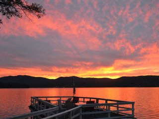 Perfect Lakefront Location, Lake George