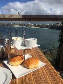 Afternoon Tea - what a view!