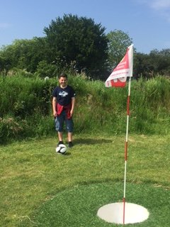 Loved the Football Golf - not far from the Eden Project
