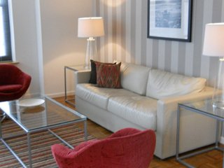 Furnished 1-Bedroom Apartment at Marin Blvd & Christopher Columbus Dr Jersey City