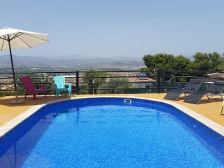 Beautiful villa with private pool and stunning views in Malaga, Spain