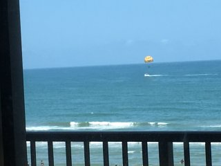 Breathtaking Top Floor Oceanfront Condo!, South Padre Island