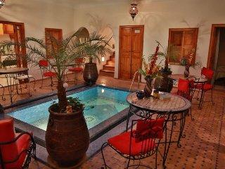 Riad Kalinka avec piscine a Marrakech