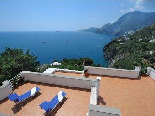 Villa Valeria,sea view,terraces and garden, Positano
