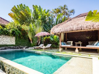 Nice 2 bdrs 5min walk to the beach - Villa Gembira, Canggu