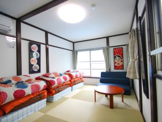JUST OPENED! Tokyo House for Groups & Families, Koto