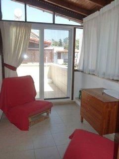 patio doors onto 1st floor terrace