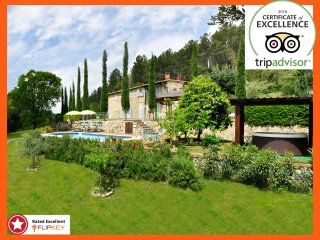 Villa with Pool and Jacuzzi private Deal 2017, Siena