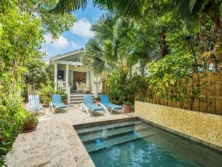 Bahama House - Conch Home w Heated Pool and Grill. 1/2 Block To Duval St, Key West