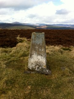 The view north into the Cairngorms National Park, from Balduff Hill on Bamff. A super walk.
