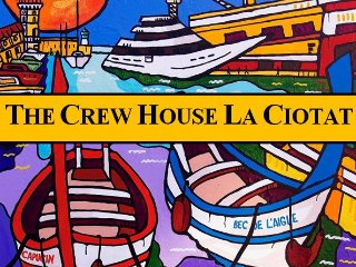 The Crew House - Maison sur le port avec Box - 10 min Calanques Mugel